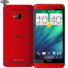 """Original HTC ONE M7 Unlocked 32GB Quad-Core 4.7"""" IPS 1920*1080p Full HD 4MP 3G WIFI Cellphone Android 4.4 Telefonos Moviles(China (Mainland))"""