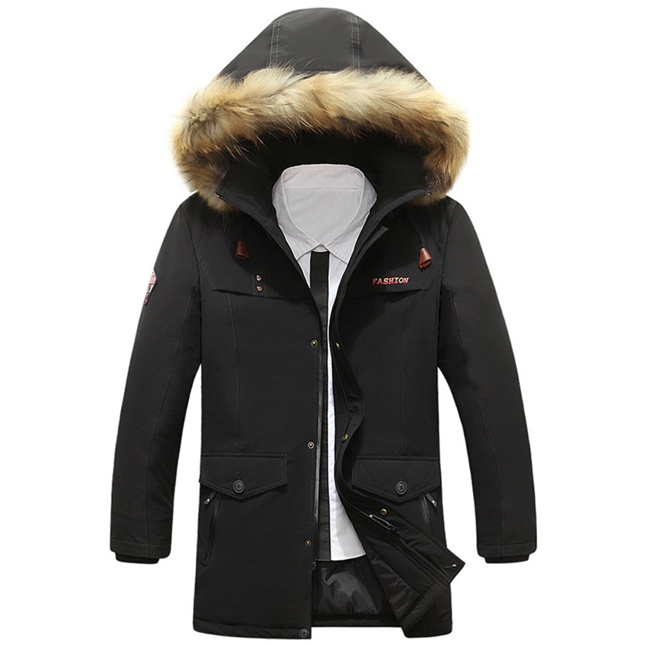 Mens Jacket With Fur Hood Photo Album - Vicing
