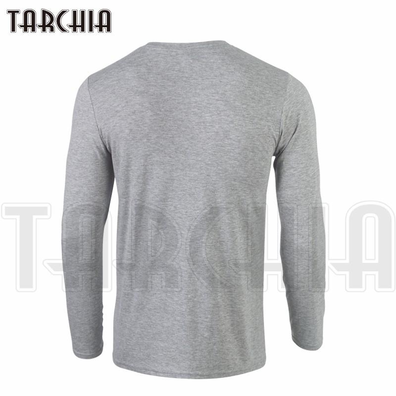 TARCHIIA Brand Eur Size Free Shipping Long Sleeve Men Tee The Walking Dead Men's T-Shirt 100% Cotton Plus Size Homme Boy Wear  HTB1B_LVKXXXXXXEXFXXq6xXFXXXF