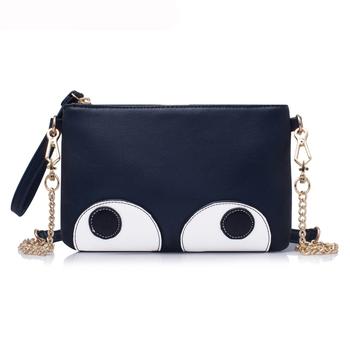 Женщины сумку известные бренды кошельки и сумки кожа сумки на ремне Crossbody большие глаза сумки Bolsa Feminina мешок основной Carteras