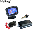 Car LCD Display Parking Sensor LCD 4 Reverse Parking Sensors Backup Radar Car Detector System Kit