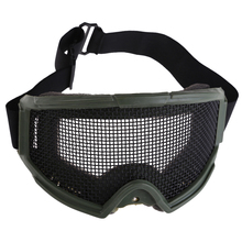 Safety Goggle Cool Airsoft Eyes Protection Metal Mesh Pinhole Glasses Goggle Outdoor Sports Skiing Hunting Eyes Glasses #1JT