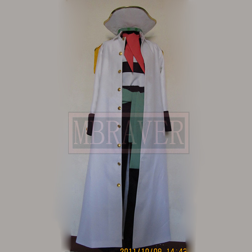 Hot Anime ONE Piece Buggy Boogie Cosplay Costume  Halloween Clothes Full set