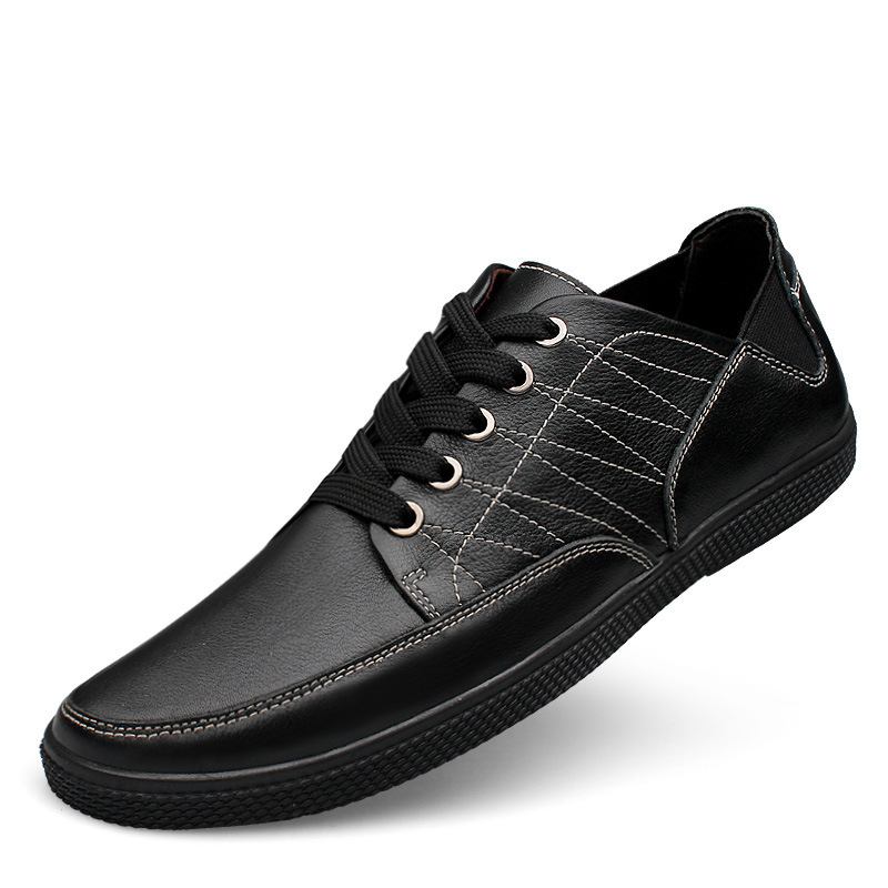 Fahsioin Driving Genuine Leather Men Shoes Casual Cowhide Flats Man Sport Lace up Sneakers men Loafers Moccasins size 38-46<br><br>Aliexpress