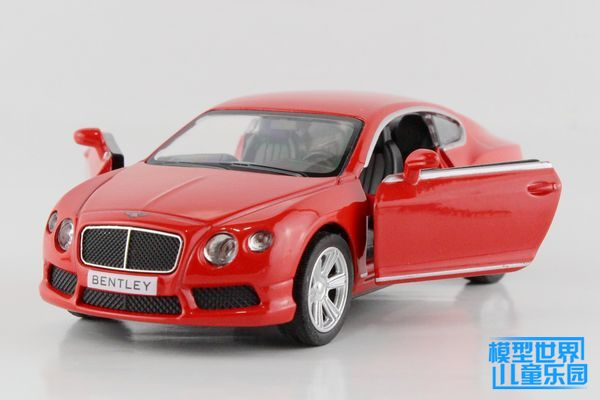 Brand New UNI 1/36 Scale UK Bentley Continental Diecast Metal Pull Back Car Model Toy For Gift/Collection/Children(China (Mainland))