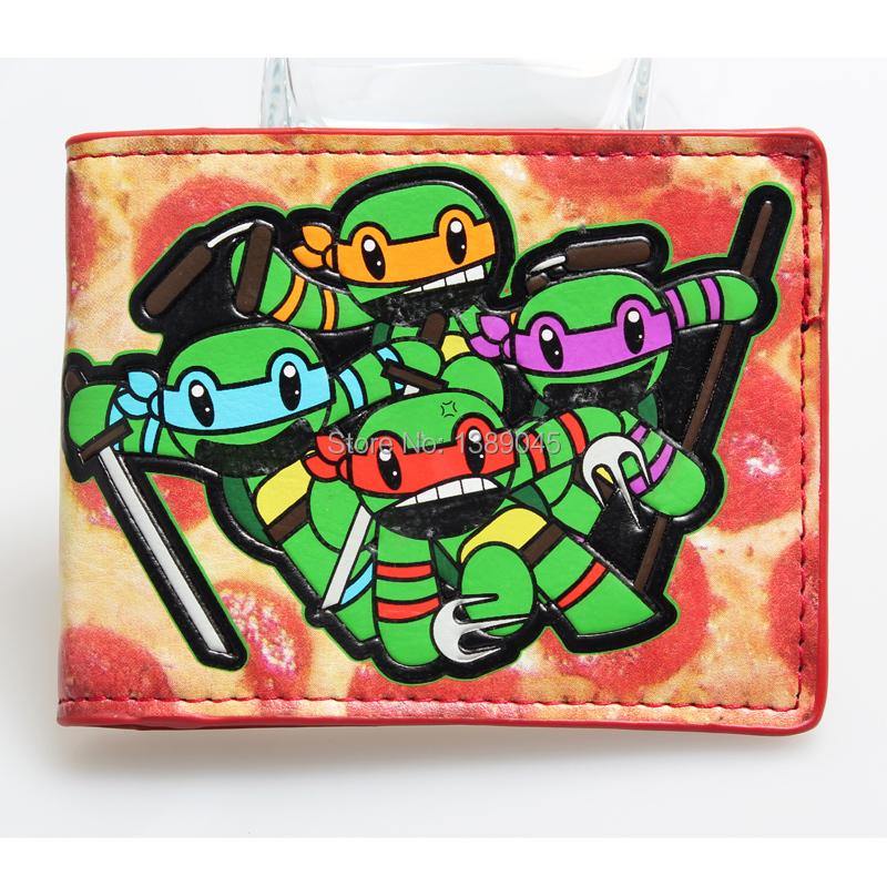 Teenage Mutant Ninja Turtles TMNT purse boys and girls students personality of animated cartoon wallet  001<br><br>Aliexpress