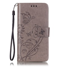 Huawei Honor 5 c/GT 3 PU Leather Shell Mobile Phone Bags Floral Butterfly Stand Flip Case Cover 5c - Tvcmall online1 Store store