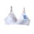 Cotton C/D CUP Wire Free  Front Open Maternity Nursing Bra Big Size /Feeding Bra Plus Size 40/42 C/D