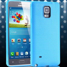 New Arrival! Heavy-Duty Construction Durable Protection Case For Samsung Galaxy Note 4 IV TPU Cellphone Back Cover SGS04293