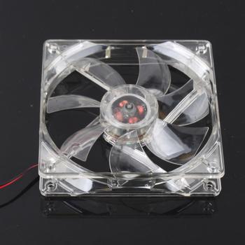 1Pcs/lot 120mm Fans 4 LED Blue for Computer PC Case Cooling  #2135