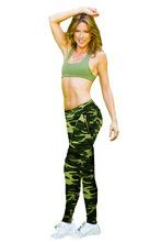Fashion Leisure 2015 Women  Camouflage Print Gym Sports Pants High Waist Leggings Plus Size Skinny Capris Gray Pencil pants(China (Mainland))