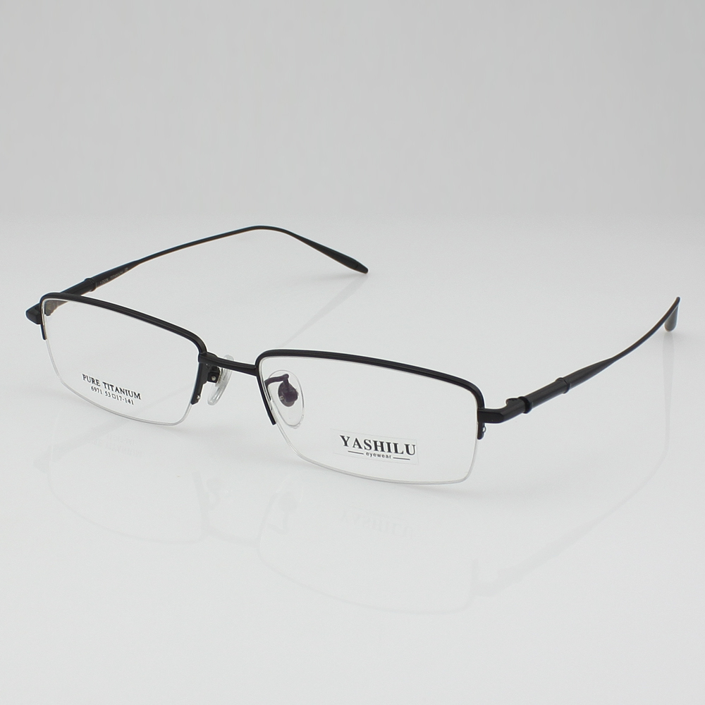 New Design Pure Titanium Eyeglasses frame RX Eyewear Mens ...