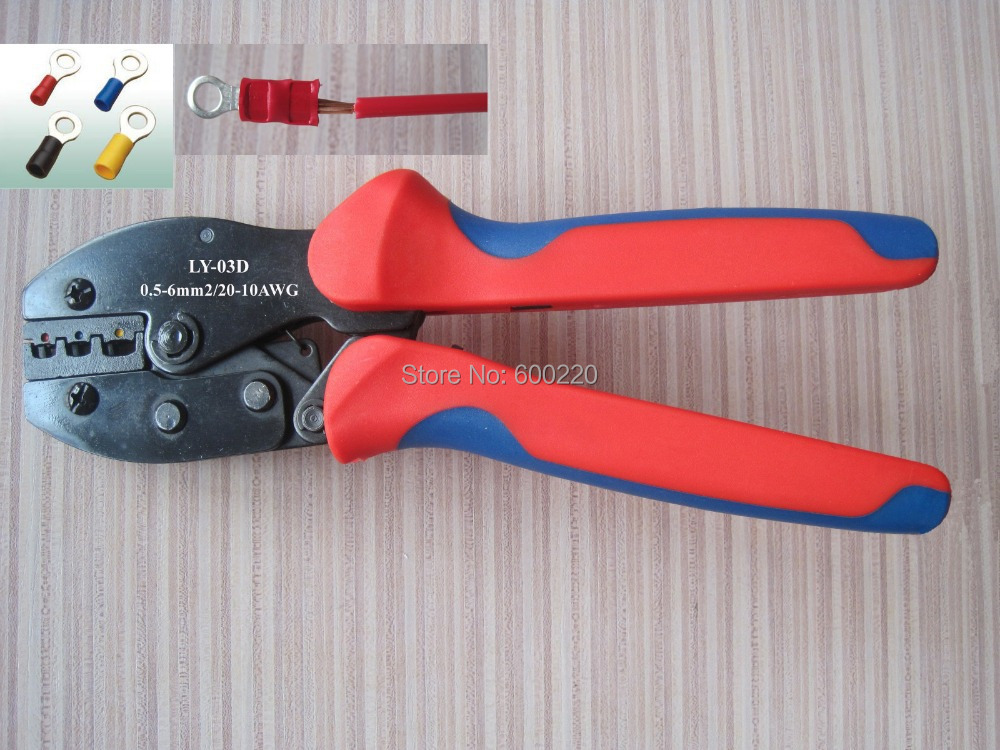 buy ratchet terminal crimping tool plier for crimp insulated terminal and. Black Bedroom Furniture Sets. Home Design Ideas