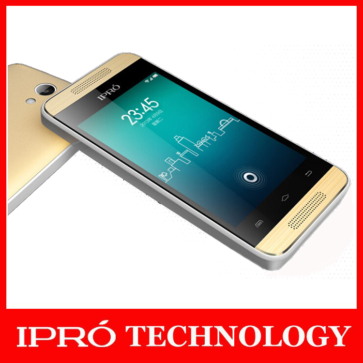 Unlocked Smart Phones(iPro Trans II) 3.5inch Android 4.2 Touch Phone Dual Core 2G/3G WCDMA network GPS/WIFI/Bluetooth GOLD color(China (Mainland))
