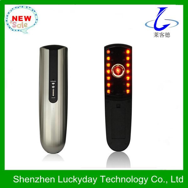 Free shipping Hair regrowth laser pulse comb massage brush LYD-107(China (Mainland))