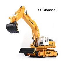 11 channel rc excavator,Advanced remote control excavator vehicle,Charging set, electric engineering vehicles,Most gift(China (Mainland))