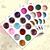 2016 New! 60X Nail Art DIY Decoration Rhinestone Glitter Powder Dust For UV Gel Acrylic 3D Decor Tips