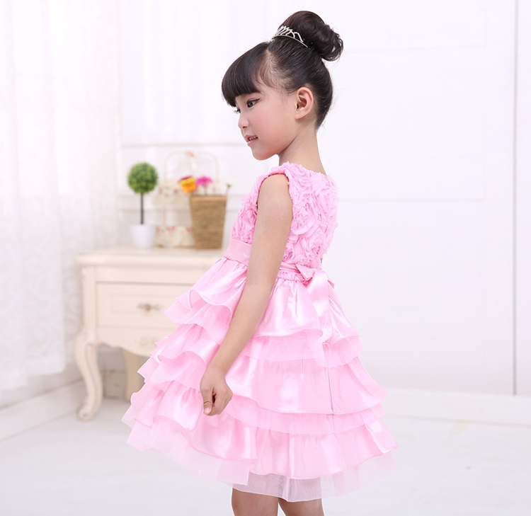 Baby Girl Pink Party Dress Baby Girl Party Dresses
