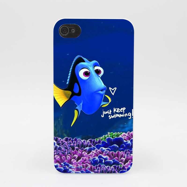 186GS Finding Nemo Hard White Case Cover for iPhone 4 4s 5 5s 5c SE 6 6s Plus Print(China (Mainland))