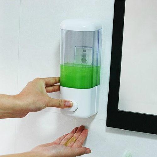 Wall-mounted Hand Liquid Soap Shampoo Dispensers Bathroom Kitchen Hotel Bathroom Accessories Bath & Body Works(China (Mainland))