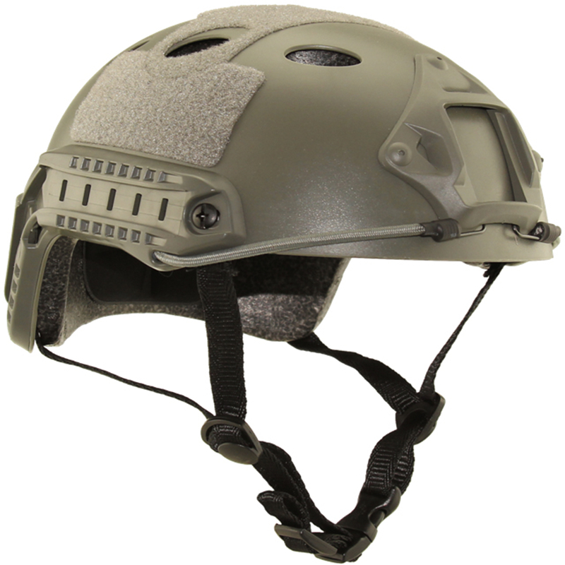 FAST Type Helmet Army Military Tactical Fast-PJ-Simple half covered helmet paintball hunting cs jumping protective face mask(China (Mainland))