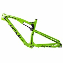 Buy Full suspension bicicletas mountain bike double suspension 650B carbon frame thru axle mtb carbon frame 27.5er AC156 for $660.00 in AliExpress store