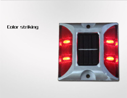 Solar road Stud, reflective marking lights, led traffic signs cast aluminum road studs(China (Mainland))
