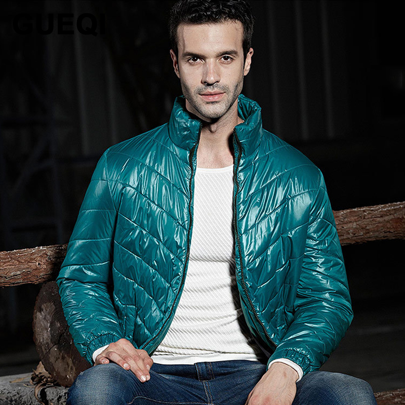 GUEQI Brand Fashion Winter Jacket Men 2015 New Arrival Men Coat Winter Warm Parka High Quality