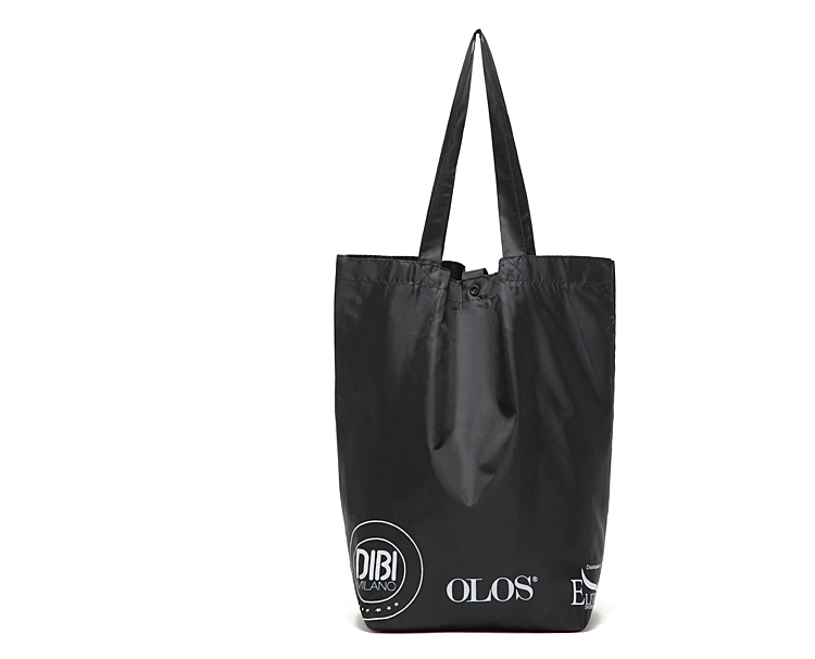 Free Shipping Casual Nylon Shopping Bags Black Color with Letters Pattern Shopping Bag Handbags<br><br>Aliexpress