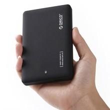 "ORICO 2599US3 Portable 2.5"" SATA HDD External Enclosure case Tool Free Sata to USB 3.0 Micro B Interface for Notebook Desktop PC(China (Mainland))"