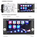 7 Double Din Video Player for Toyota Car DVD Stereo Radio Video Player with Digital Touch