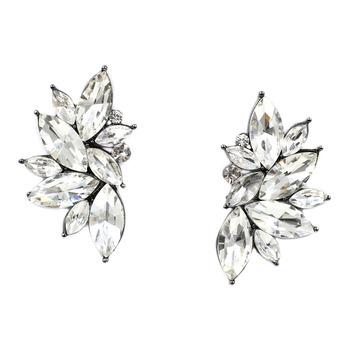 2015 новый оптовая продажа винтажный дизайн кристалл серьга мода женщин заявление ...