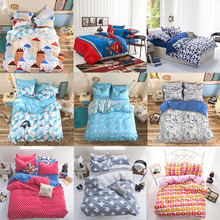 High Quality European Style Bedding Set Including 2 Pillowcase 1 Duvet Cover 1 Coverlet 9 colors available(China (Mainland))