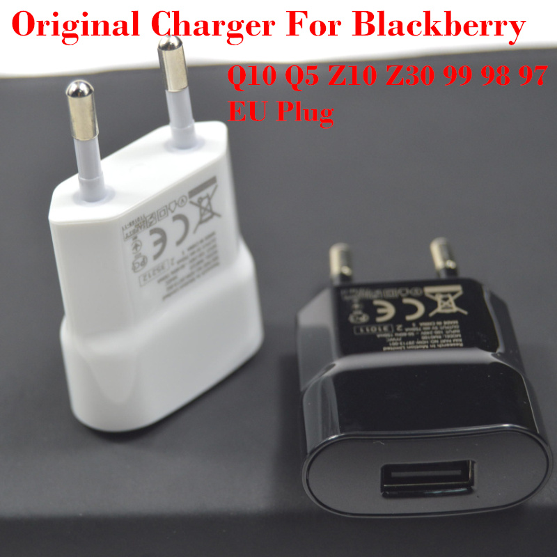 Free Shipping Original EU Plug USB Wall Charger Phone Chager Adapter for blackberry 9900 9930 9800 Z10 Q10 9790 9810 9790(China (Mainland))