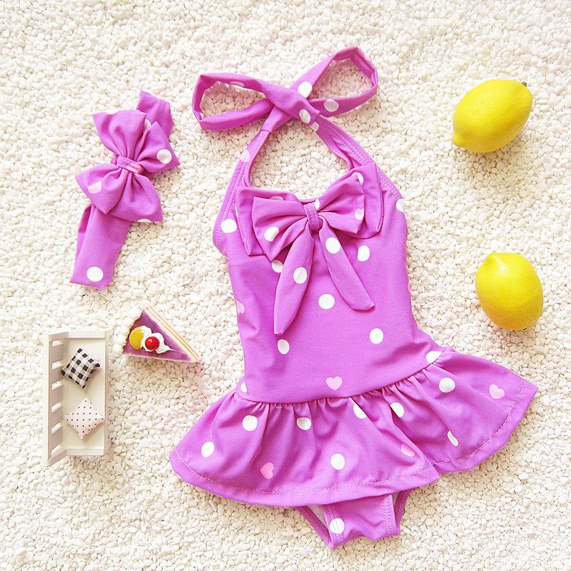 2015-children swimwear daughter baby one-piece dresses hot spring Beach swimwear manufacturers wholesale direct<br><br>Aliexpress