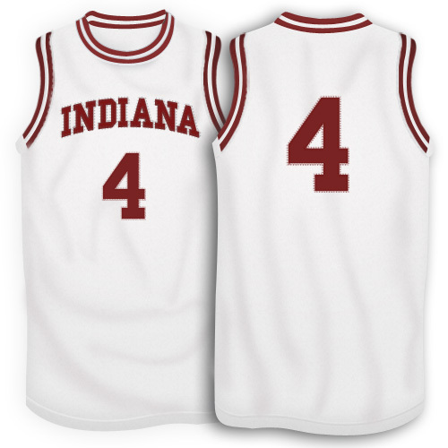 Ncaa basketball jersey,Indiana Hoosiers throwback basketball jersey Victor Oladipo jersey white/red S-XXXL throwback jerseys(China (Mainland))