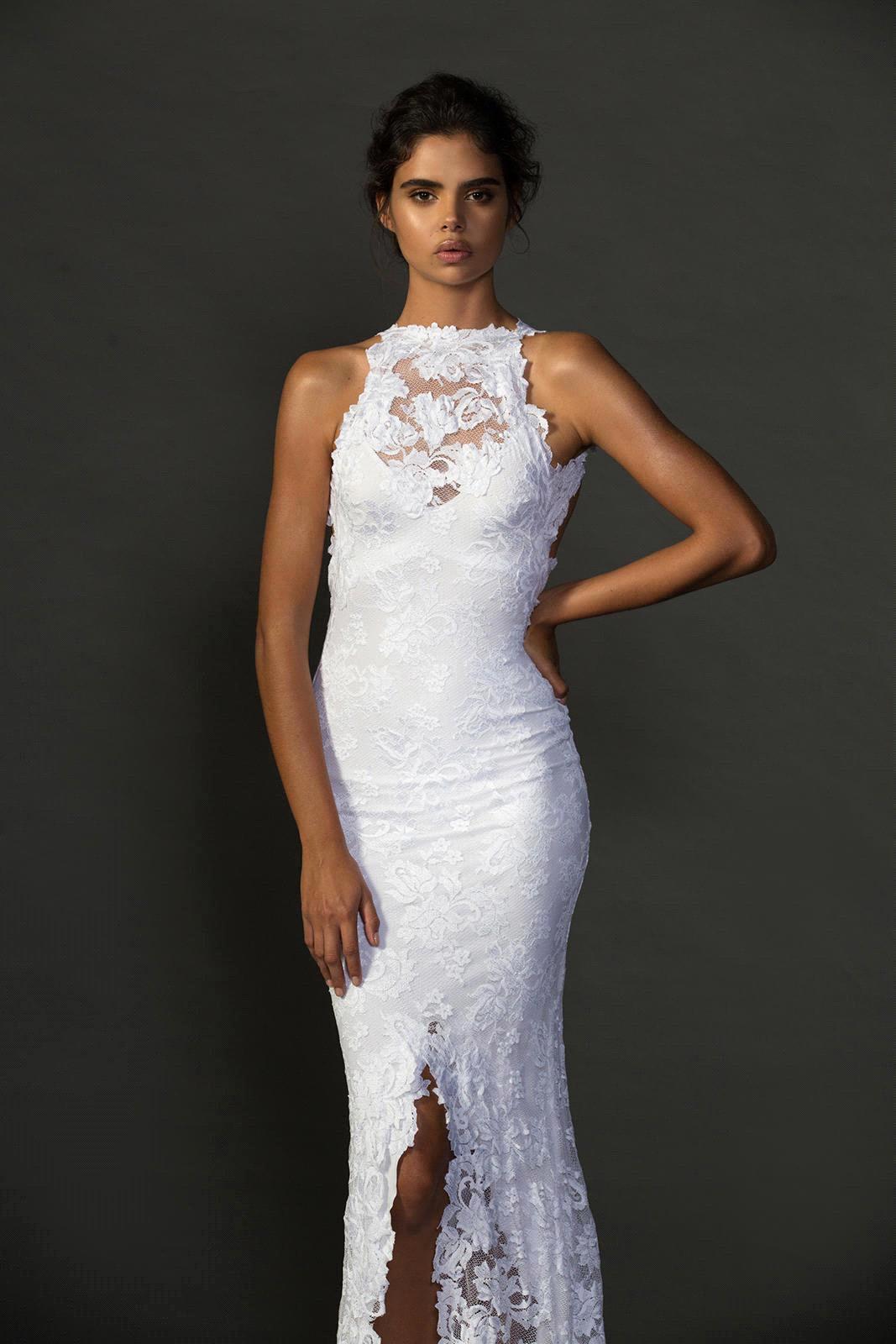 y Open Back Mermaid Wedding Dresses 2016 Sleeveless