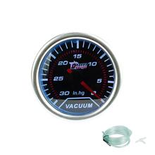"""Buy Vacuum gauge 2"""", 52mm smoke lens Vacuum gauge -30~0 In.Hg displaying/Auto gauge/Tachometer/Car meter/Racing Meter for $12.74 in AliExpress store"""