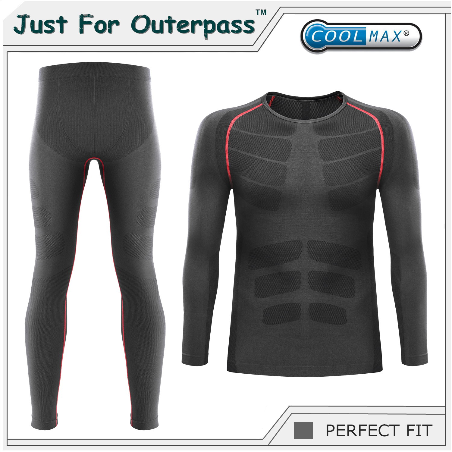 2017 Winter Thermal Underwear Sets Men Brand Quick Dry Anti-microbial Stretch Men's Thermo Underwear Male Warm Long Johns HI-Q(China (Mainland))