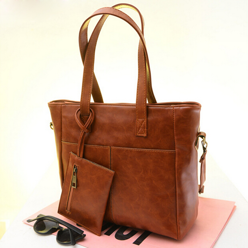 Гаджет  Genuine leather bag fashion women handbag vintage women bag casual shoulder bags women tote office shopping bolsas femininas  None Камера и Сумки