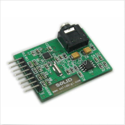 Breakout Board Si4703 FM RDS Tuner Compatible MP3 For ARM AVR PIC(China (Mainland))