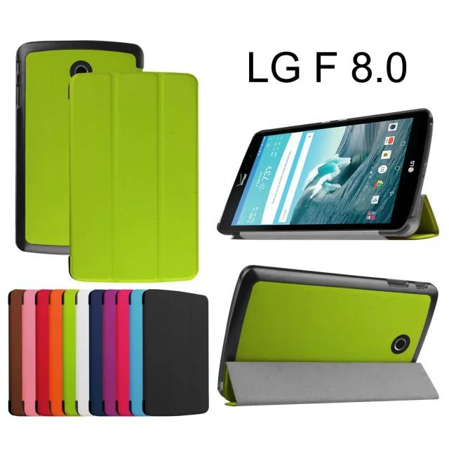 20pcs/lot New Ultra Slim Magnetic Luxury Folio Stand Leather Case Sleep Smart Cover For LG G Pad F 8.0 AT&amp;T V495 / T-Mobile V496<br><br>Aliexpress