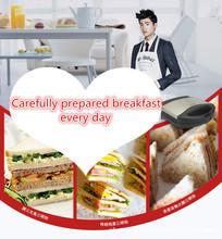 2016 Top Fashion Promoção Torradeira Portátil Multifuncional Máquina de Café Da Manhã Sanduíche Fazer Hambúrguer Ficha Euro Aparelhos de Cozinha(China (Mainland))