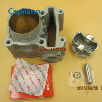 motorcycle ceramic cylinder kit engine block kit with forged piston LC135 for yamaha in modified big bore 61mm 62mm 63mm 65mm