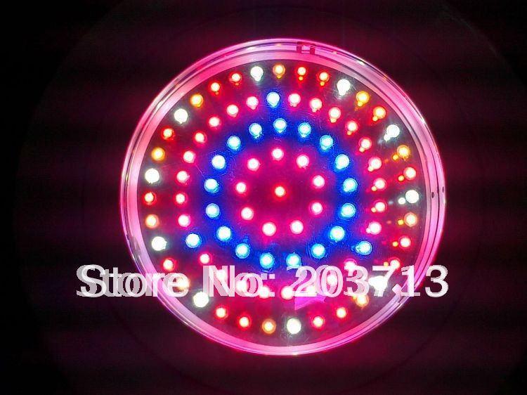 90W UFO Hydroponic Lamp plant Grow Light Red Blue Orange and white led grow light 5:2:1:1(China (Mainland))