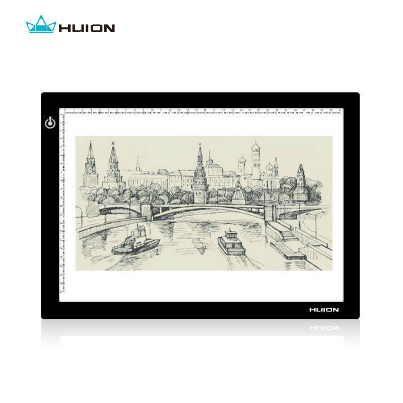 Promotion Huion L4S LED Light Pad Lighting Boxes LED Tracing Boards Professional Animation Drawing Tracing Panel Free Shipping(China (Mainland))