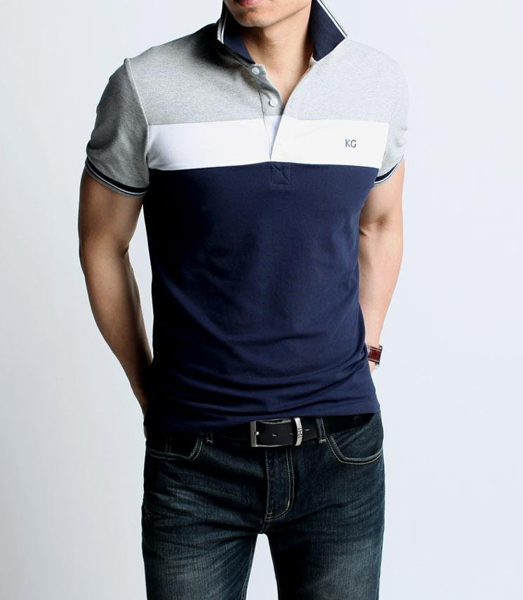 Hot sale polo shirt classic style top quality man polo for Best quality polo shirts for men