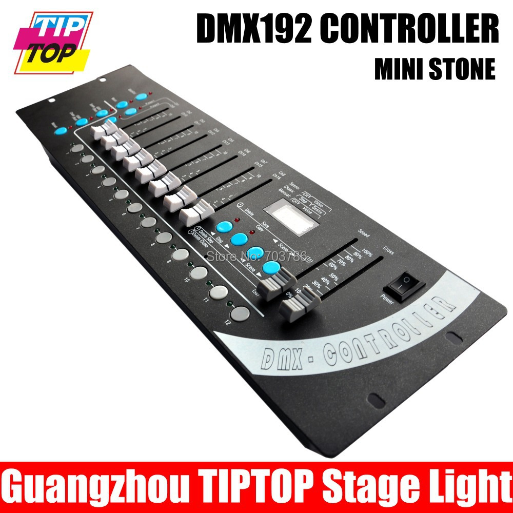 1pcs/lot 192 DMX controller,16pcs light to contorl stage light,light controller 90V-240V,good quality,1year quality wrranty<br><br>Aliexpress