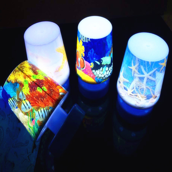 Various Pattern Cartoon Night Lights White Colorful Light Energy Saving Pat Light ABS + Electronic Components 3AAA LED Lamp(China (Mainland))