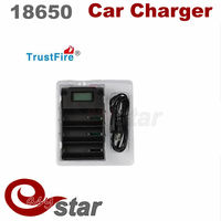 10pcs China manufacturer portable charger TrustFire TR-008 battery charger for 18650, 25500, 26650, 26700, 32650 batteries